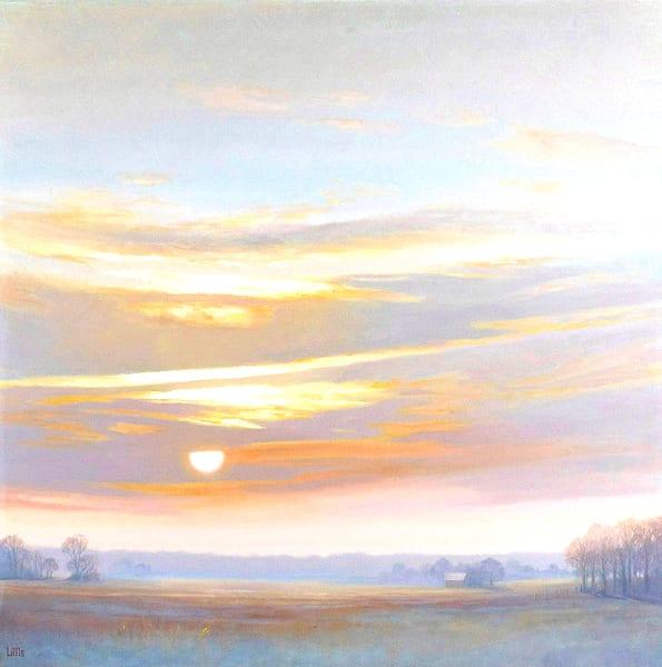 'Finale' print of original oil painting by Ed Little, Bridgewater, CT