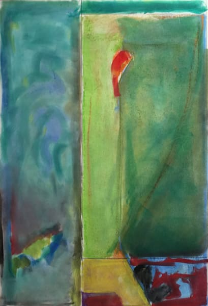 Cardinal Dreaming   Pastel  On Bfk Rives Paper   Sold Art | Peter Anderson Studio