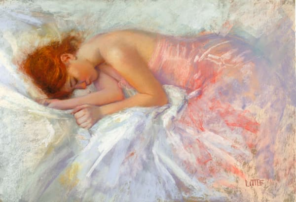 'Dreaming' Print of pastel painting by Ed Little, Bridgewater, CT
