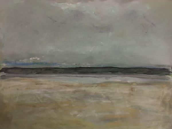 Low Tide In Tralee, Ireland   Pastel On Sandpaper+Oil Art | Peter Anderson Studio