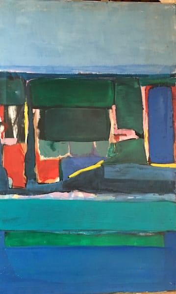 Santa Monica, Ca # 3   Oil On Canvas  Sold Art | Peter Anderson Studio