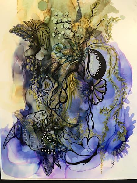 Eggplant Delight Art   Art With Judy Ann