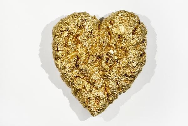 Heart Of Gold Art | Cindy Avroch Fine Art & Design