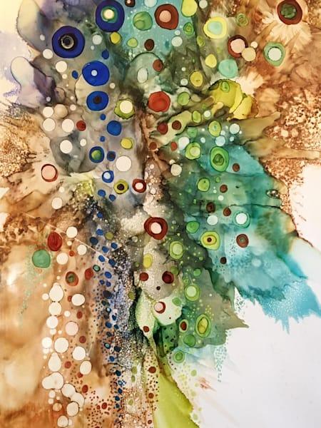 Big Cascade Art   Art With Judy Ann