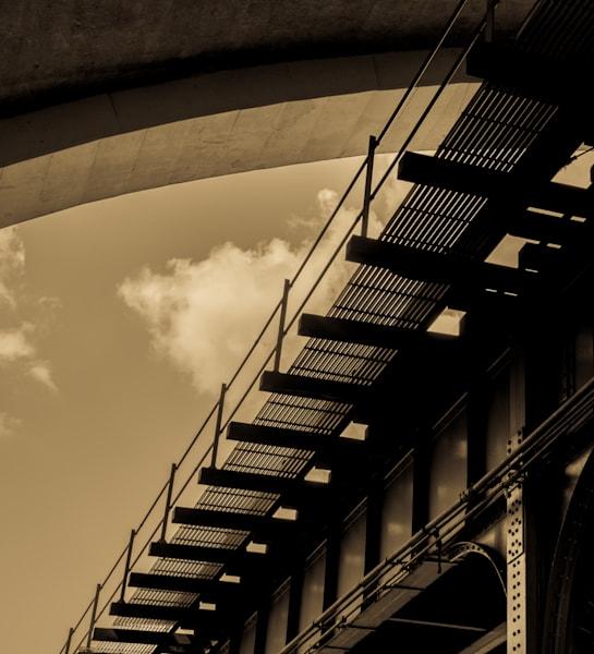 Hell Gate Bridge Train Tracks, Astoria Nyc Photography Art | Ben Asen Photography