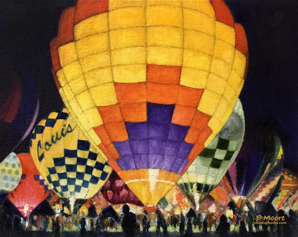 Great Forest Park Balloon Glow