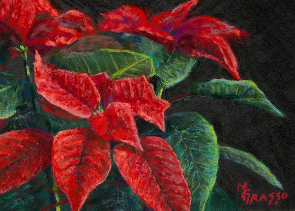 Poinsettias   Original Art | Mark Grasso Fine Art