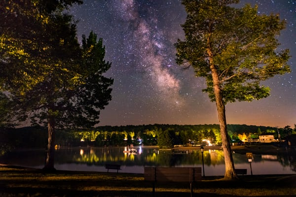 Old Forge Pond Milky Way Photography Art | Kurt Gardner Photogarphy Gallery