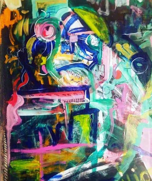 Man Birds Parrots Angry Brain  Art | Art Design & Inspiration Gallery