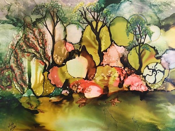 Forest Edge Art   Art With Judy Ann