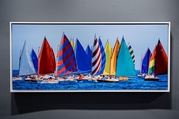 Rainbow Fleet 53x23 Metal | Cory Silken Photography