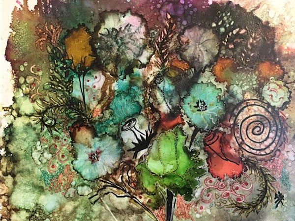 Green Foliage Art   Art With Judy Ann