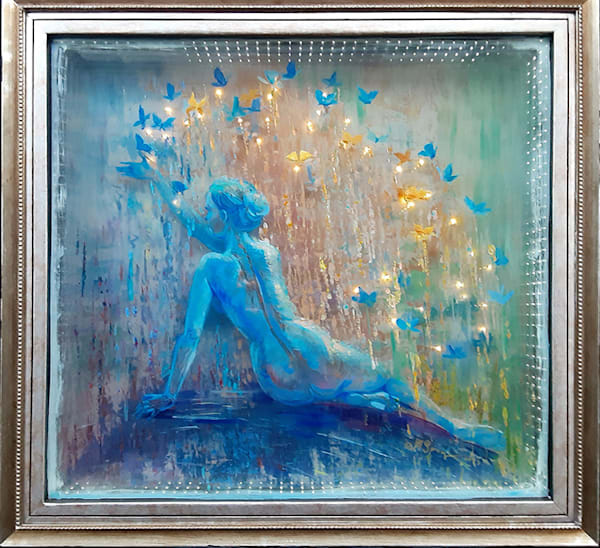 3d glass painting Transformation