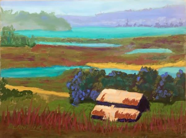 Elkhorn Slough Memory | Original Pastel