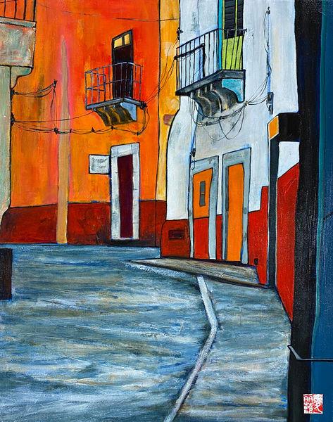 Guanajuato Alley (Print) Art | Marissa Sweet