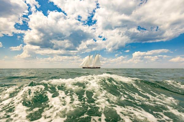 Yacht America   9661 Art | Kjeld Mahoney Photography