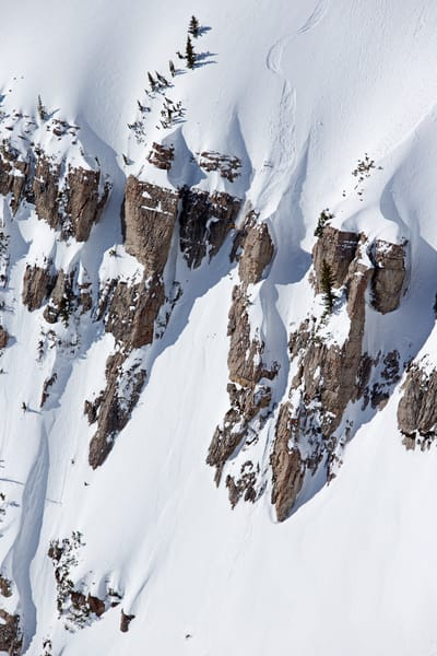 Bryce Newcomb, No Name Peak, Jackson Hole