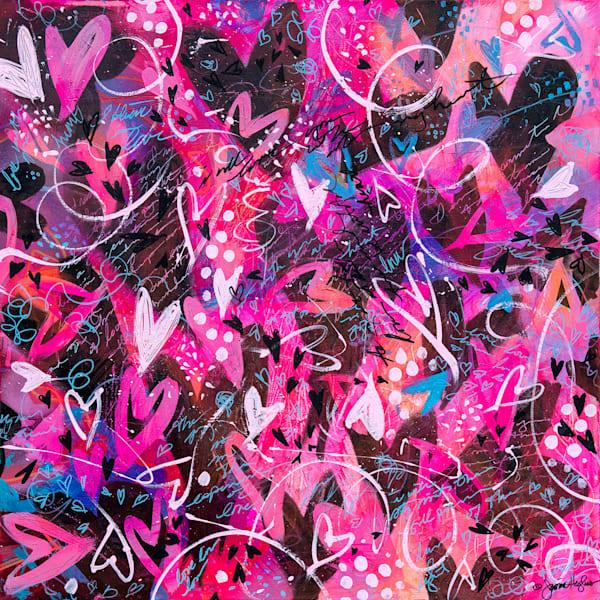 Wild Hearts, Original Painting Art   Jessica Hughes Fine Art
