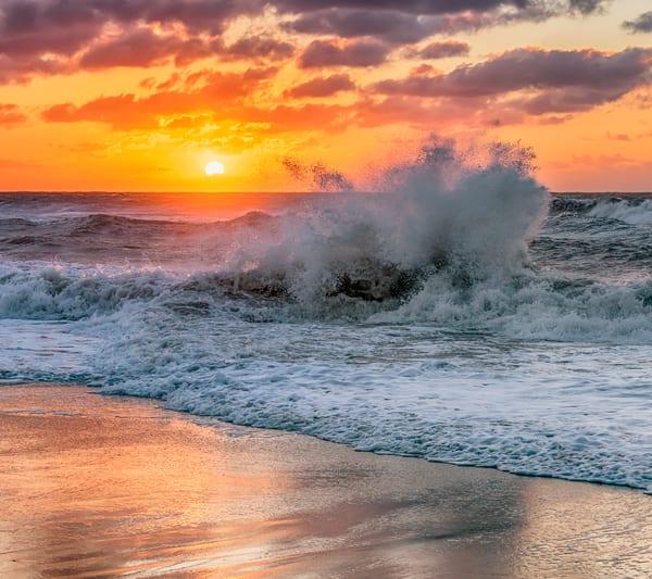 Lucy Vincent Winter Crashing Waves Art | Michael Blanchard Inspirational Photography - Crossroads Gallery