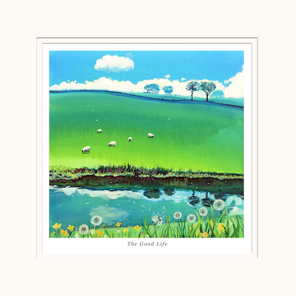 Welsh Country art print