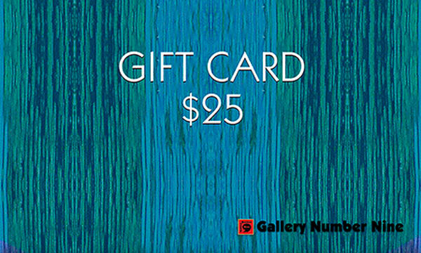 G9 $25 Gift Card | Gallery Number Nine