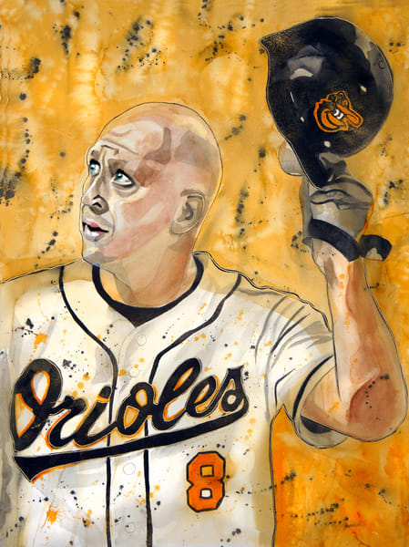 Cal Ripken   Iron Man Art | William K. Stidham - heART Art
