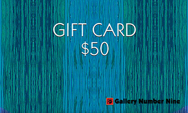 G9 $50 Gift Card | Gallery Number Nine