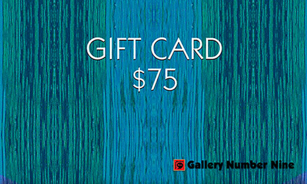 G9 $75 Gift Card | Gallery Number Nine