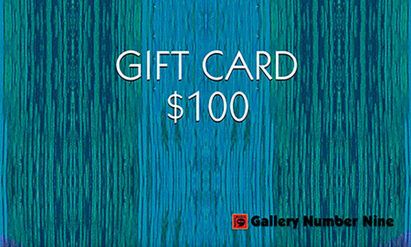 G9 $100 Gift Card | Gallery Number Nine