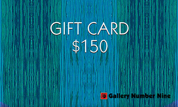 G9 $150 Gift Card | Gallery Number Nine