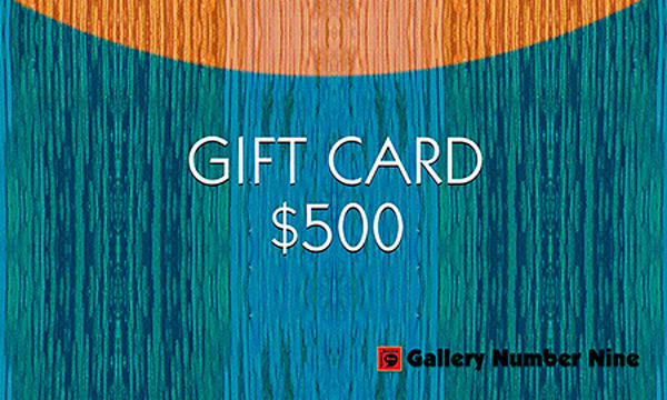 G9 Gift Card $500 | Gallery Number Nine