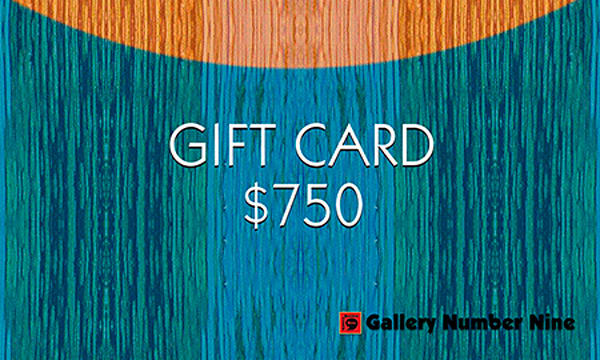 G9 Gift Card $750 | Gallery Number Nine