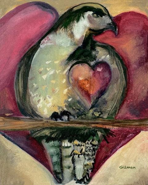 """Fierce Love"" Original Artwork by Emily Gilman Beezley"