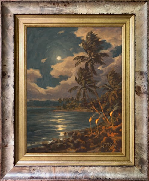 Maui Moon by Daryl Millard In Stock