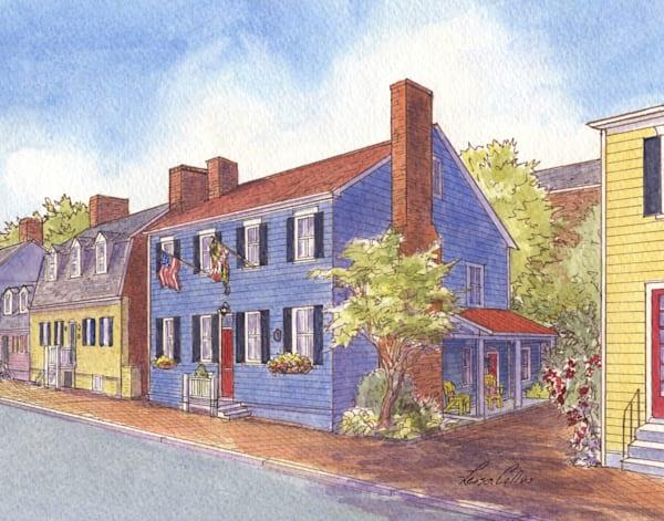 Annapolis Maryland Heritage Homes Art | Leisa Collins Art
