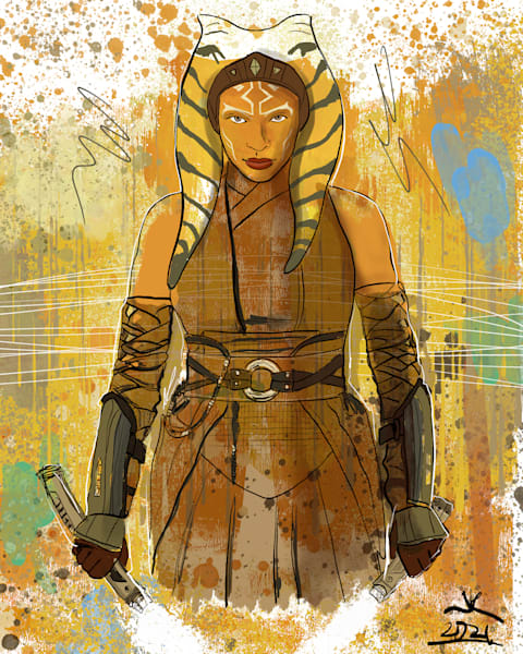 Ahsoka T Art | John Knell: Art. Photo. Design