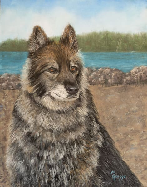 Rufus   Original Art | Mark Grasso Fine Art