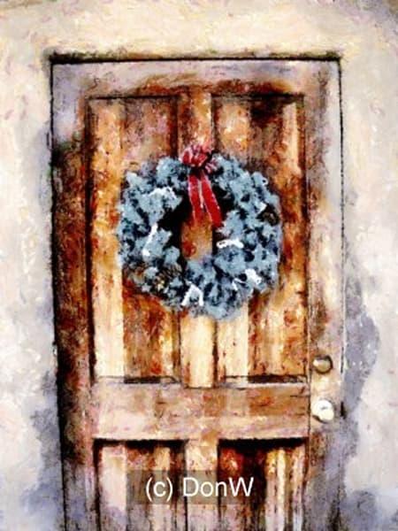 winter, wreath, welcome, photo, print, coasters