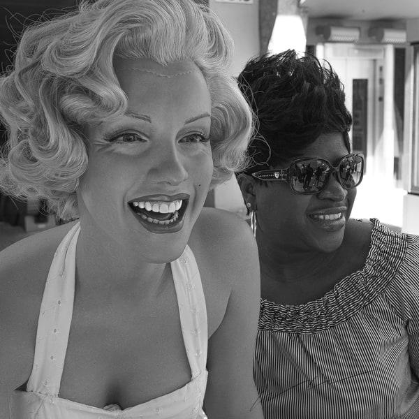 Selfie With Marilyn Photography Art   Harry John Kerker Photo Artist