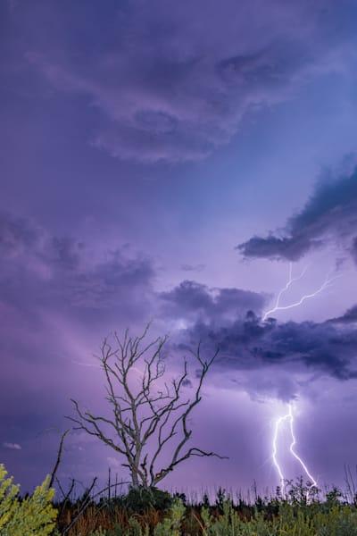 The Lightning Strikes Photography Art | kramkranphoto