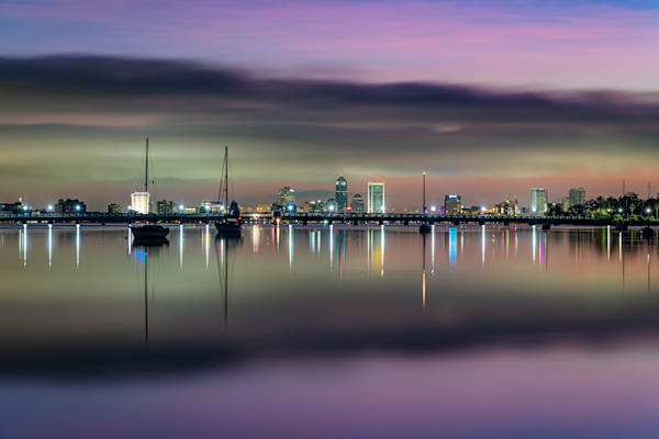 Jacksonville Twilight Reflections Photography Art | kramkranphoto