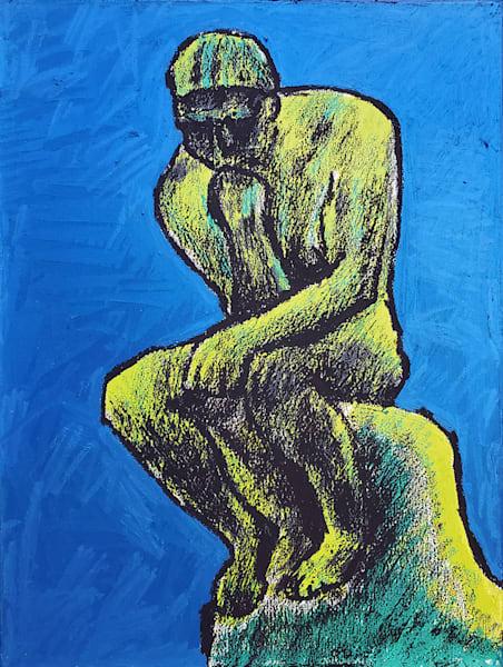 The Thinker Art | CincyArtwork Originals