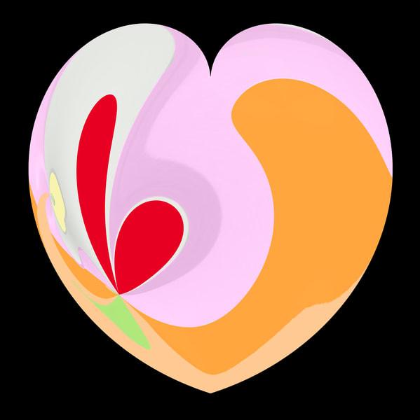 Quirky Heart Art | karenihirsch