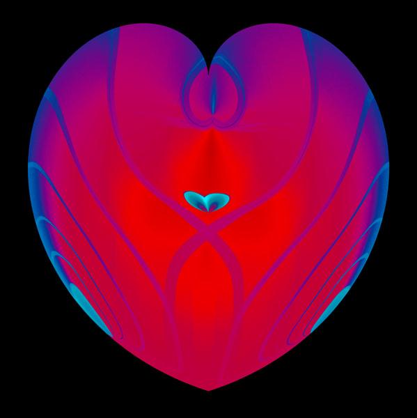 Heart In Heart Art | karenihirsch