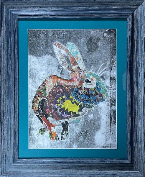 Rainbow Rabbit Art | Luanne C Brown