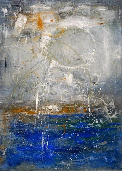 'rising Moon' 37x27 Inches. Art | Art Space 349