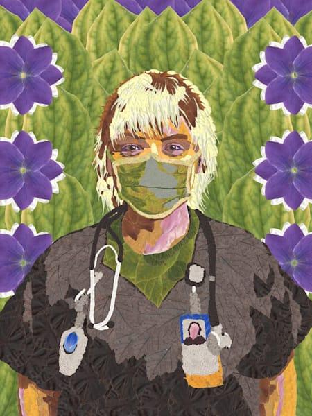 Nurse Standing Strong Art | smacartist