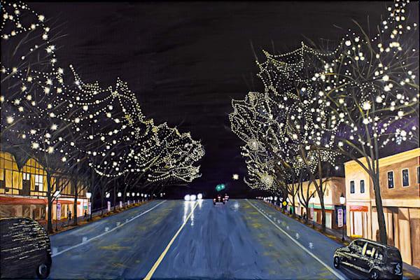 Main Street Ridgefield Iii Art   RPAC Gallery
