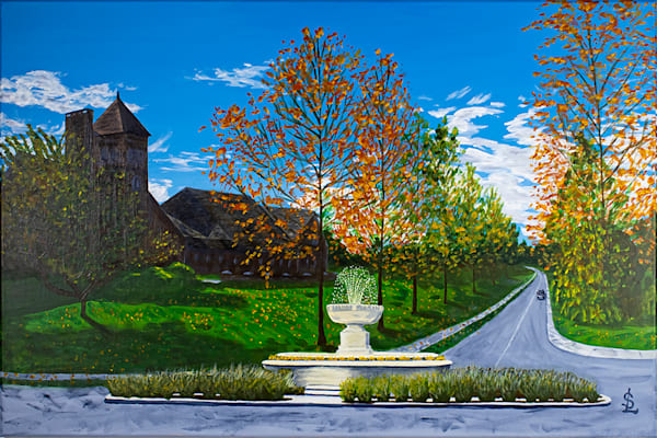 Cass Gilbert Fountain Art   RPAC Gallery
