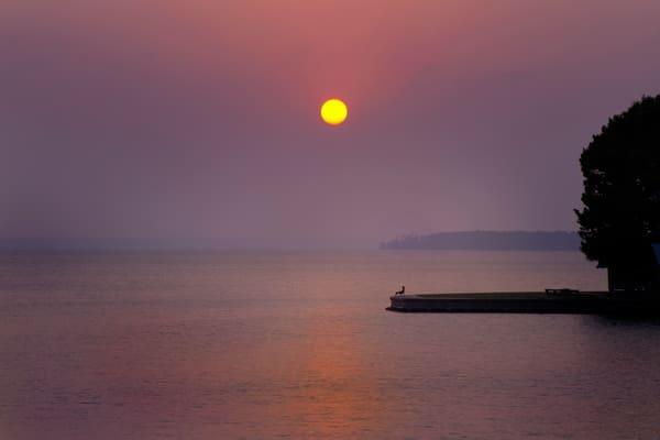The Setting Sun, Lake Livingston, Texas Photography Art | Rick Gardner Photography